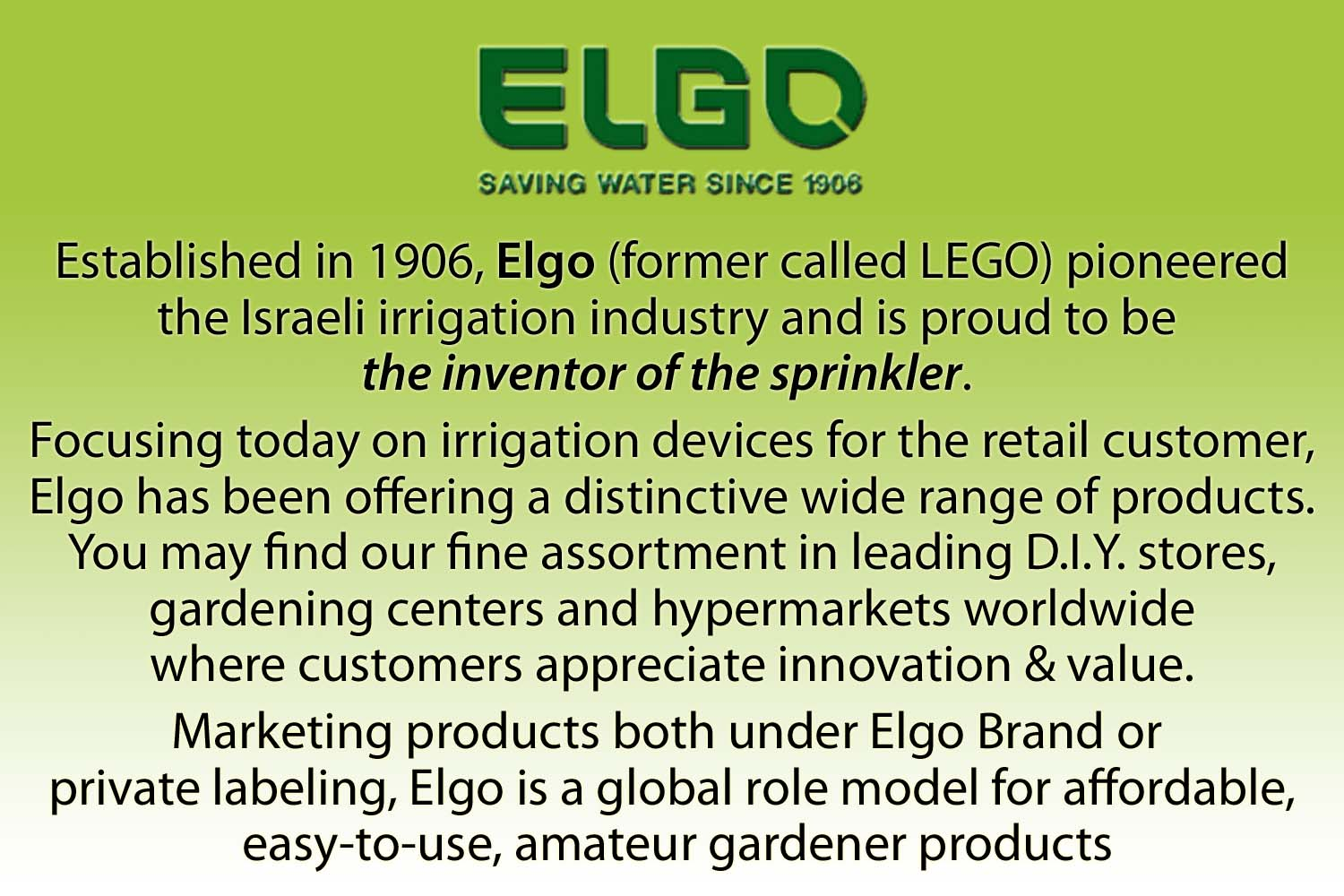 Thumbnail Automatic Irrigation Elgo